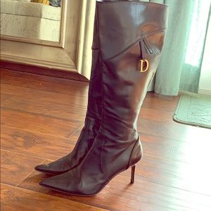 Authentic Dior Black Boots